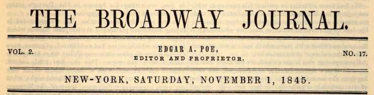 Broadway Journal banner