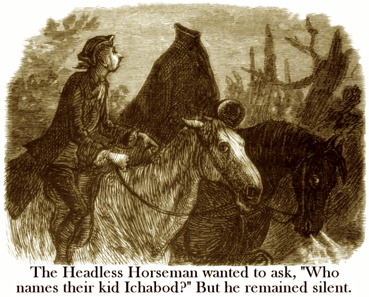 Murray - Crane Meets the Headless Horseman